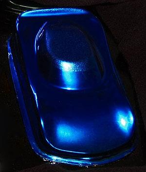 blue candy paint