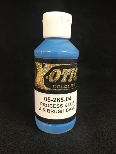Process Blue Airbrush