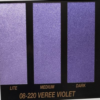 violet metallic paint