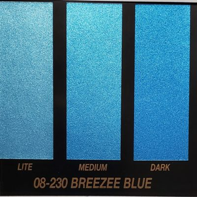 breezee blue metallic