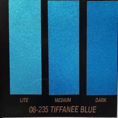 tiffanee blue metallic
