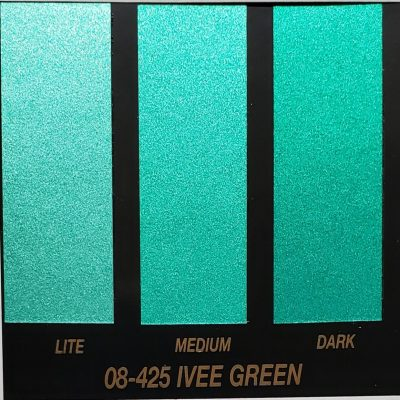 ivee green metallic paint