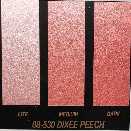 peach metallic paint
