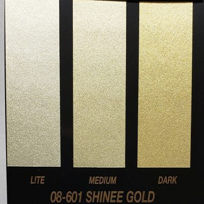 shinee gold metallic paint
