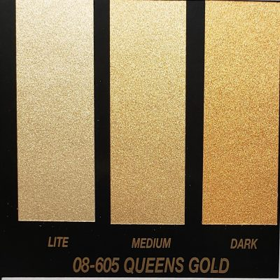 gold metallic basecoat